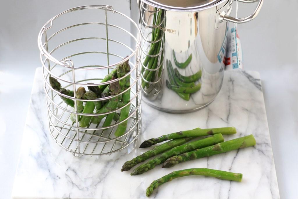 Asparagera per cuocere gli asparagi
