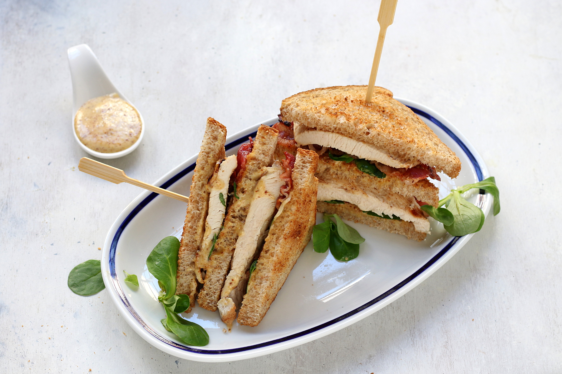 Ricetta del club sandwich