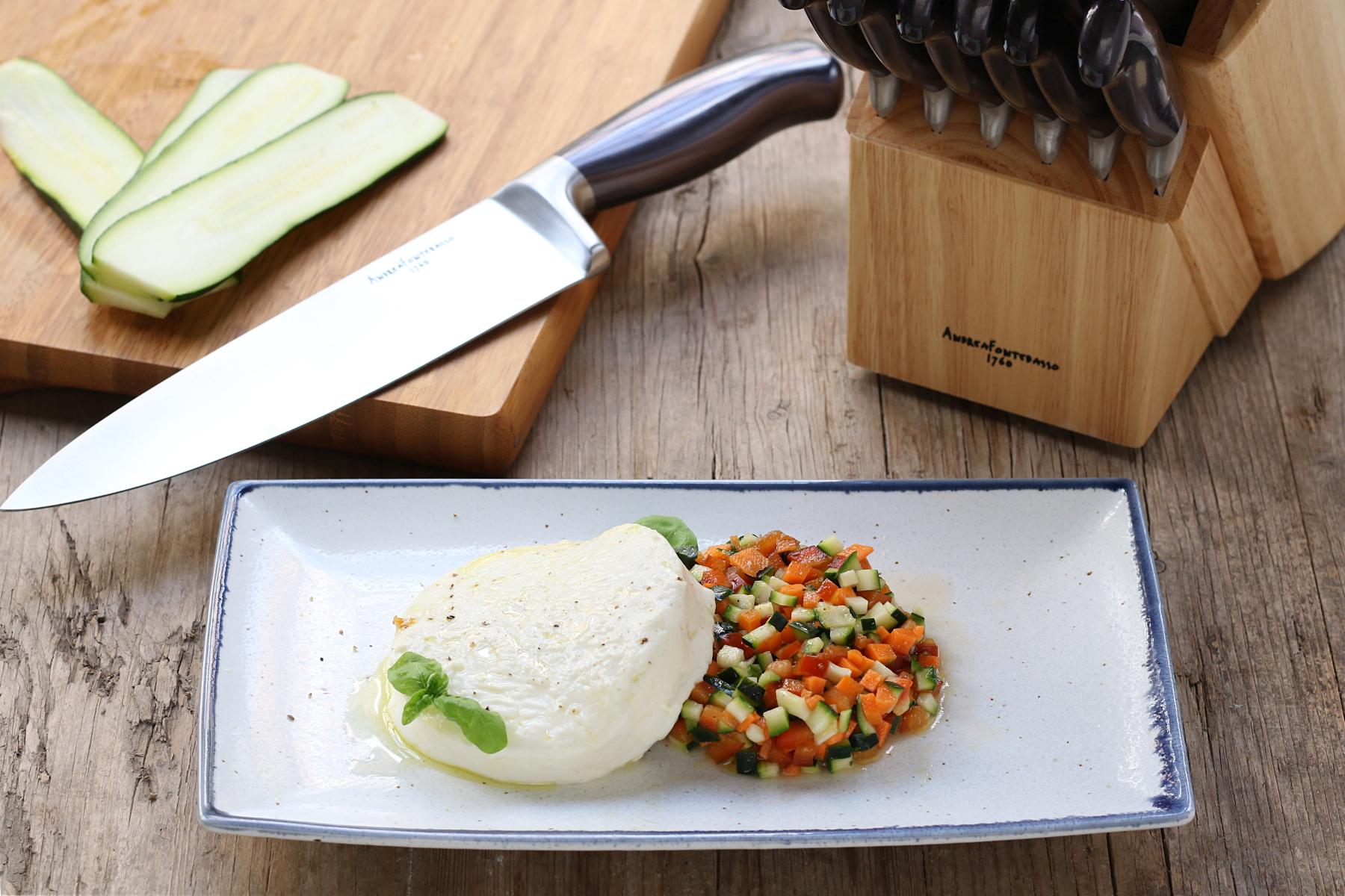 Tartare di verdure marinate