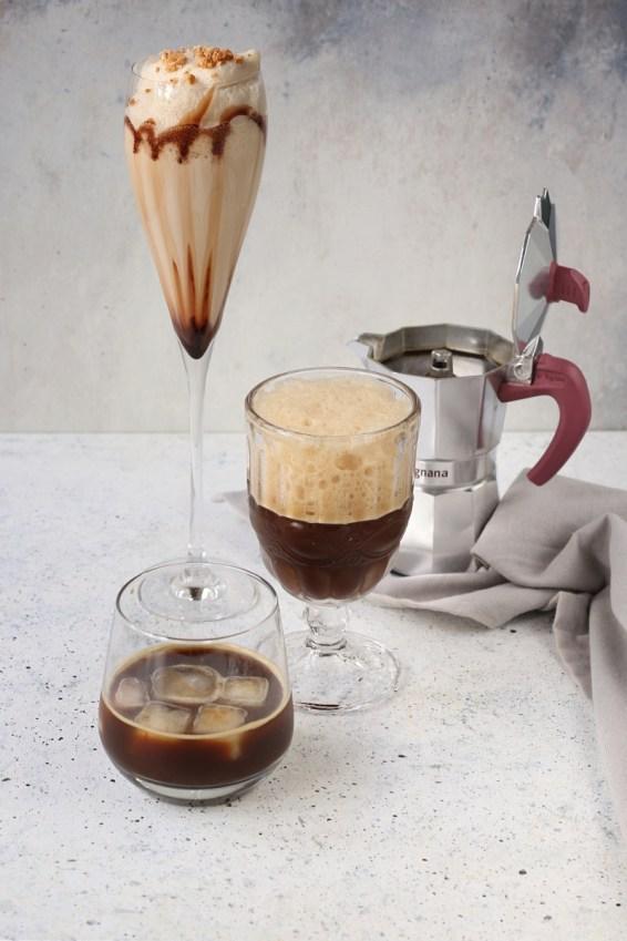 Caffè freddo con la moka