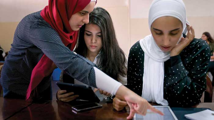 Syrian refugees use UC Davis software to restore educational documents