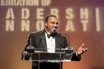 Freeman gives speech at Celebration