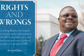 Rights and wrongs by David Glen with man smiling