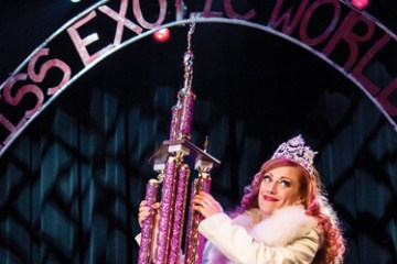 Woman wins miss exotic world