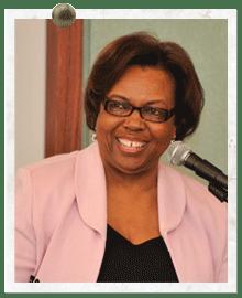 Ernestine Baker, former executive director of UMBC's landmark Meyerhoff Program.