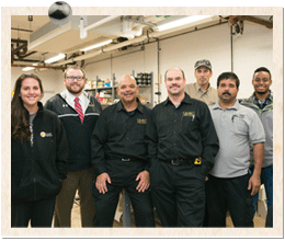 """Stephen Slowe says the UMBC students he trains as maintenance assistants are the university's """"first line of defense"""" in troubleshooting problems."""