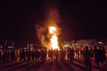 UMBC Bonfire