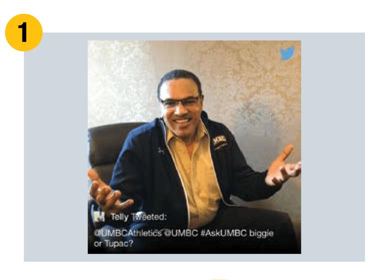 Dr. Hrabowski shrugs at rap artist question on twitter