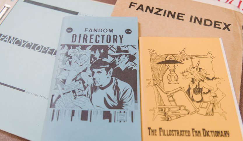 Fanzines from UMBC's Special Collections