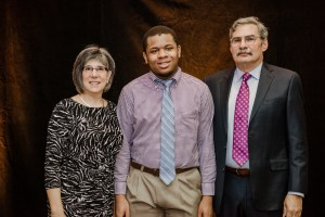 Students and honorees at the 8th annual scholarship luncheon.