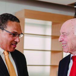 Freeman Hrabowski and Robert Meyerhoff