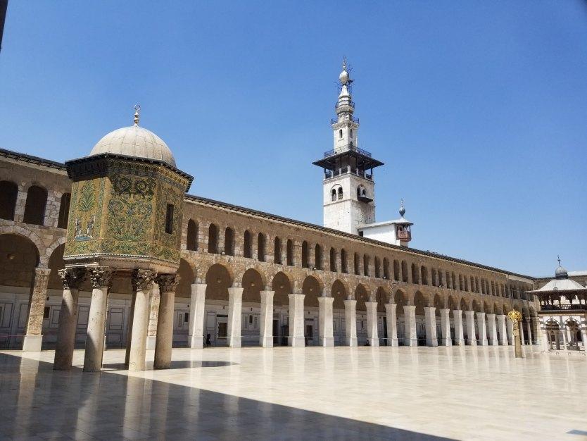 The Umayyad Mosque in Damascus. Photo by T Foz on Unsplash.