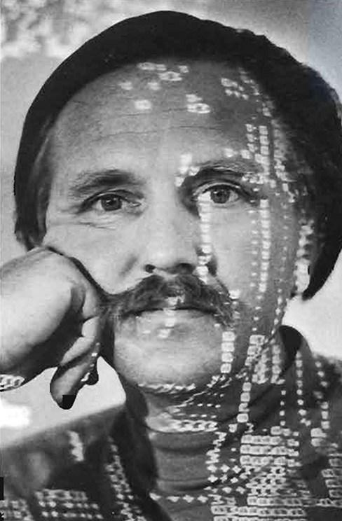 A portrait of Stan VanDerBeek.