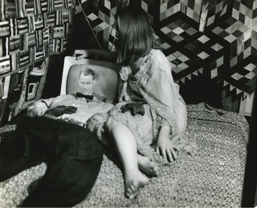 """VanDerBeek's award-winning 1963 film Breathdeath was described by the filmmaker as """"a film experiment that deals with the photo reality and the surrealism of life… a black comedy, a fantasy that mocks at death."""""""