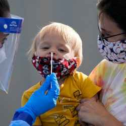 Easy, fast coronavirus testing is critical to controlling the virus. AP Photo/Elaine Thompson