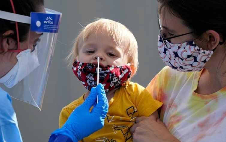 Easy, fast coronavirus testing is critical to controlling the virus. AP Photo/Elaine Thompson
