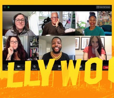 Screengrab of UMBC's alumni in film