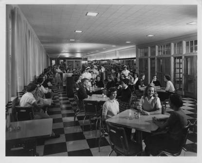 The C Shoppe was the place to go for an on-campus snack before the Eagle's Nest opened in 1987.