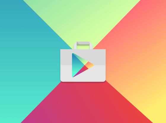 L'immagine mostra il logo di Google Play