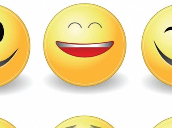 L'immagine mostra una serie di emoticon