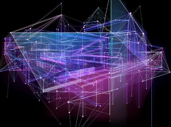 L'immagine mostra una rete di connessioni