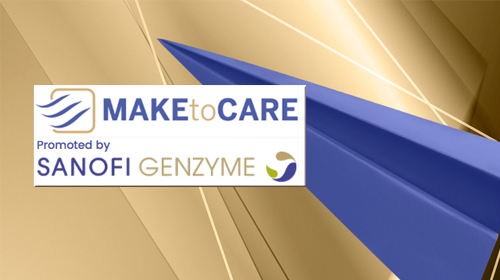 L'immagine mostra il logo di Make to Care