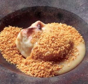 「じき宮ざわ」の焼き胡麻豆腐