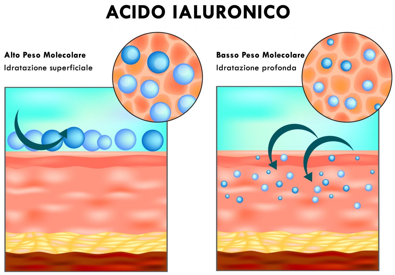 acido ialuronico peso molecolare