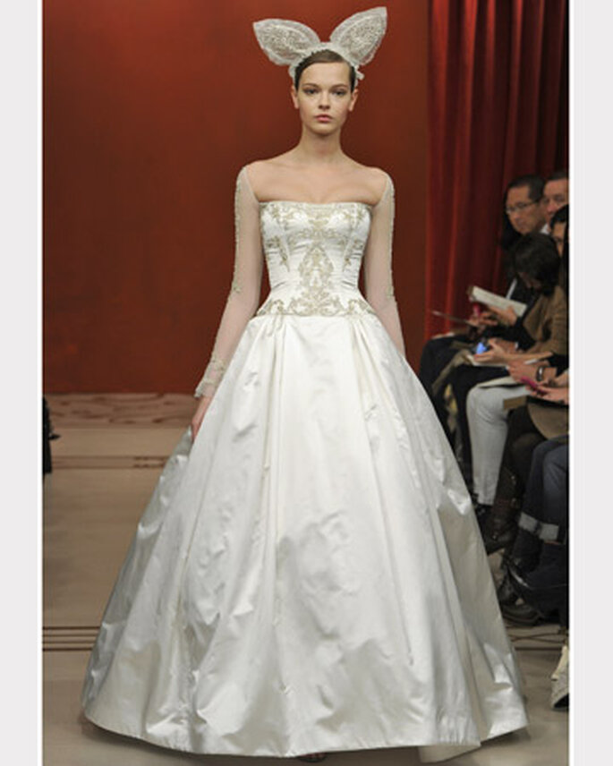 Reem Acra Fall 2011 Bridal Collection
