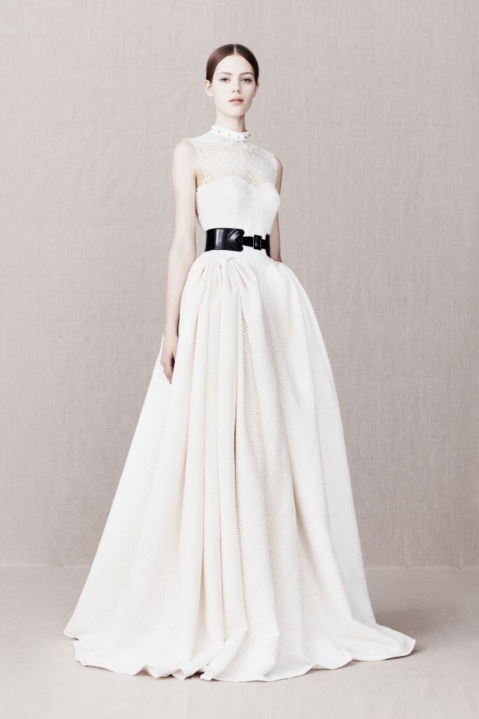Alexander McQueen Bridal - nero