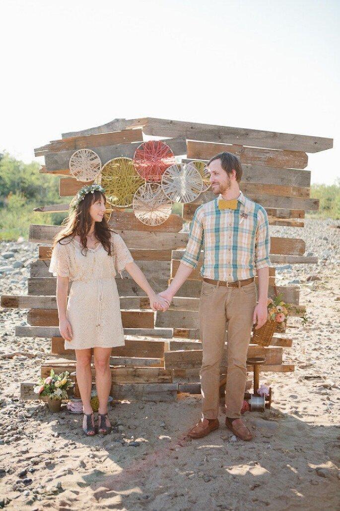 Una boda hipster - Foto Megan Hartley Photography