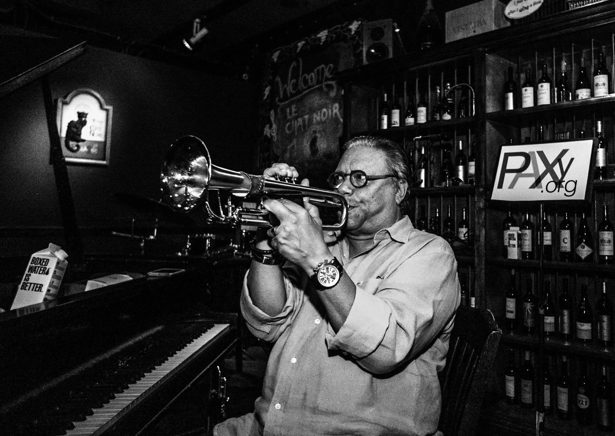 Arturo Sandoval in master class, 2016. Photo: Miri Páez Bolet.