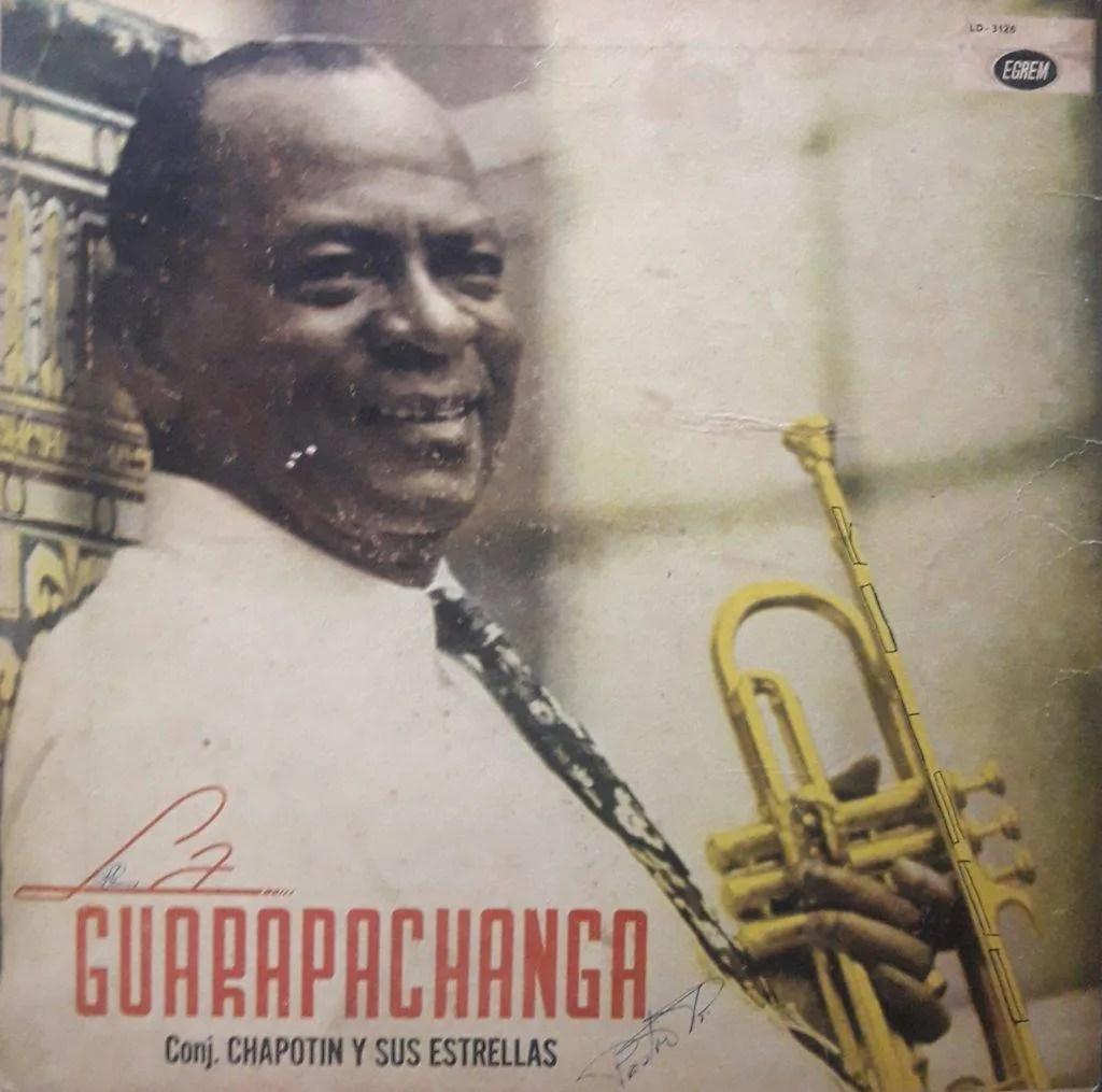 Portada del álbum La Guarapachanga.