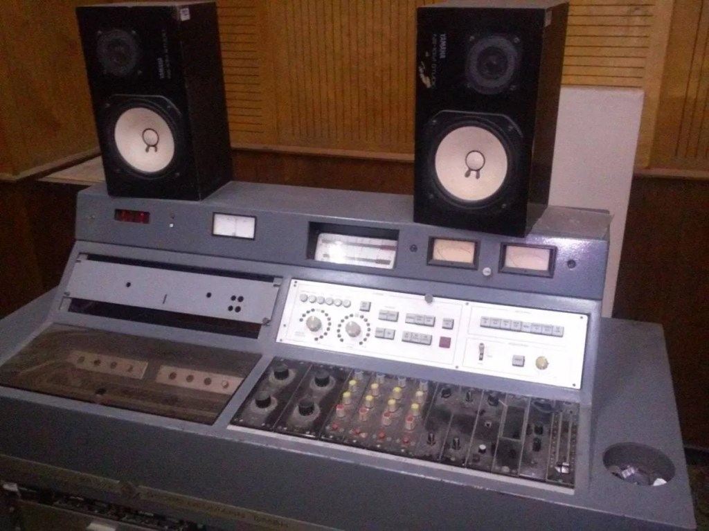 Consola de masterización. Foto: Rafel Valdivia