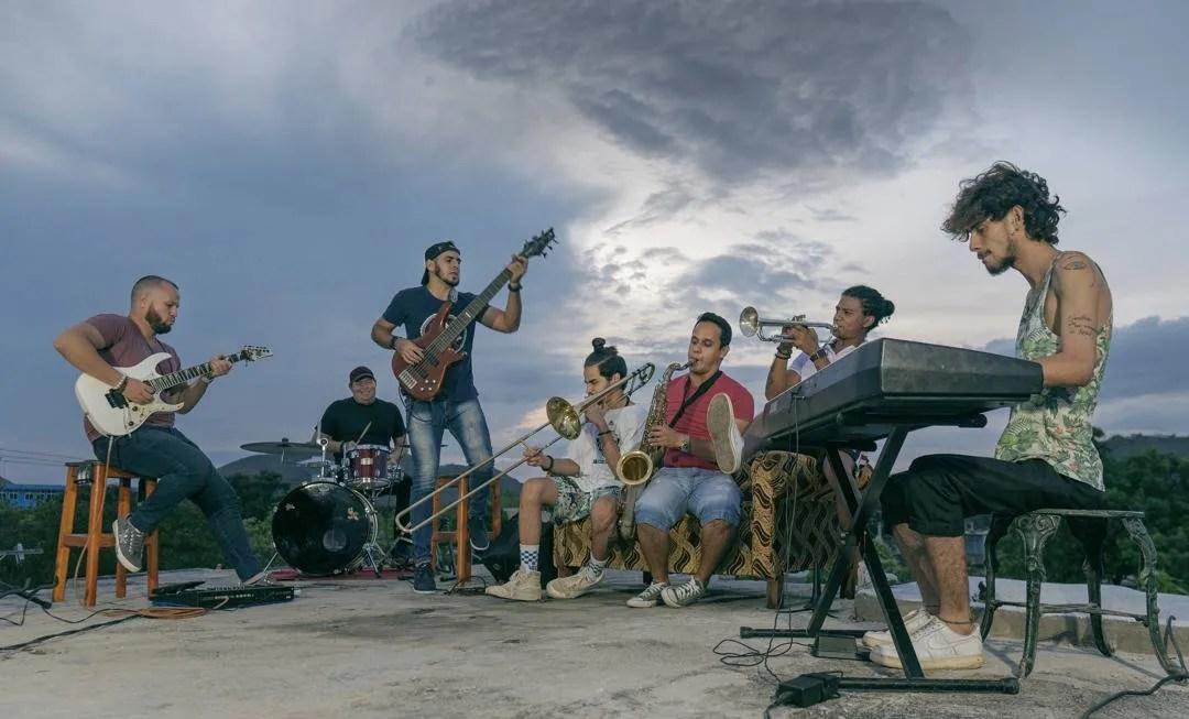 Raulito Prieto, ganador en la categoría de Mayores. Foto: Cortesía Festival Havana World Music.