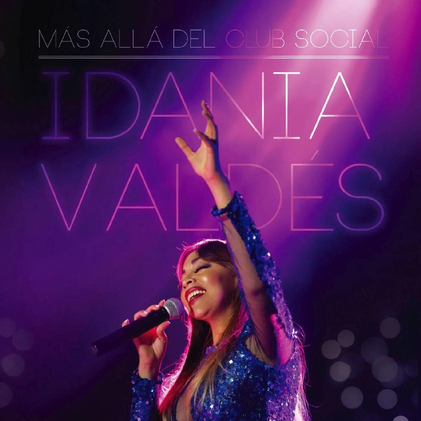 Portada del CD/DVD Idania Valdés: Más allá del club social. Cortesía de la artista.