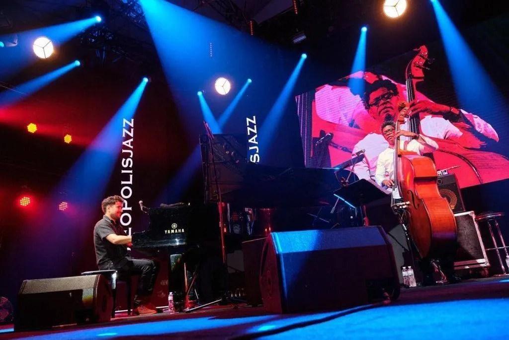 Harold López-Nussa Trío en Leopolis Jazz Fest. Foto: Tomada de las redes sociales del artista.