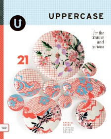 UPPERCASE - Published by UPPERCASE Publishing, Inc., Janine Vangool, Editor & Art Director