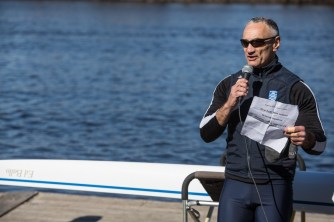 A RBC boat was named after rower and club member Ed Ballo