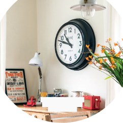 Kitchen Clocks Cotton Rugs Pocketmags Com Check It Works For You If The Colours Clash Or Numbers Are Too Small In An Odd Font May Not Be Able To Tell Time