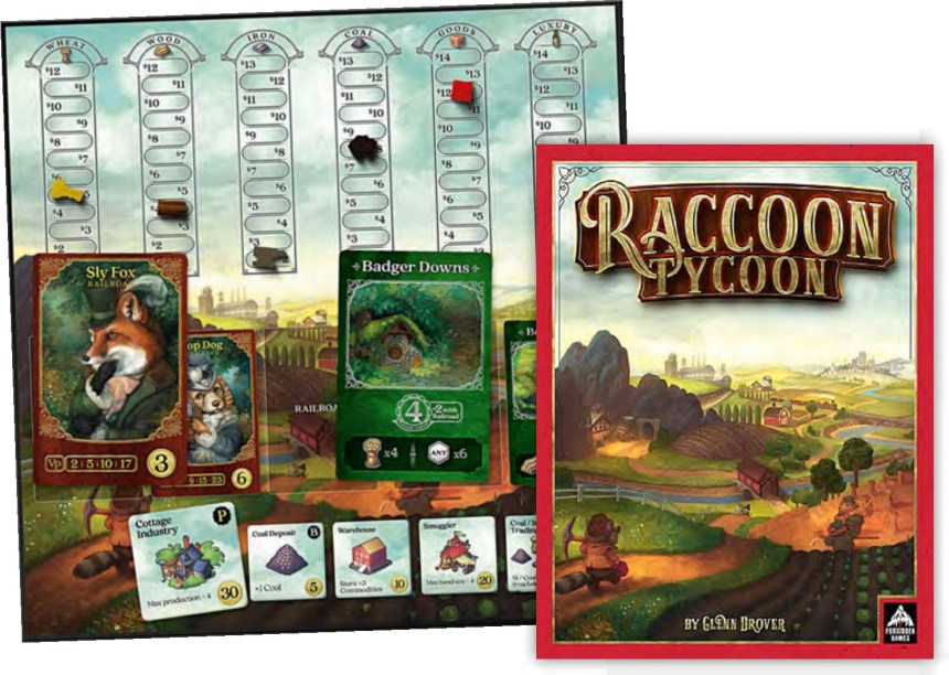 Image result for racoon tycoon