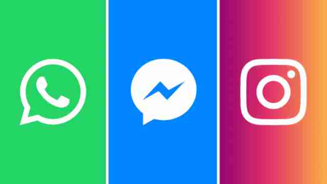 Facebook's To Connect WhatsApp, Messenger, Instagram