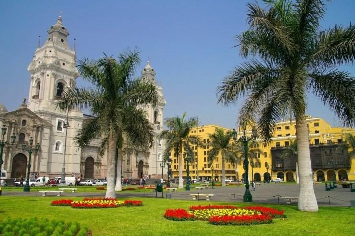 Palazzi del centro di Lima