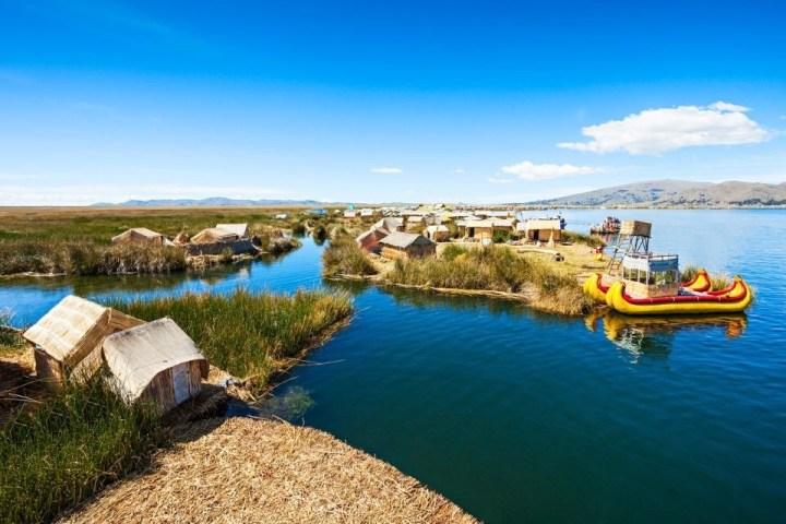 Isole galleggianti del Lago Titicaca