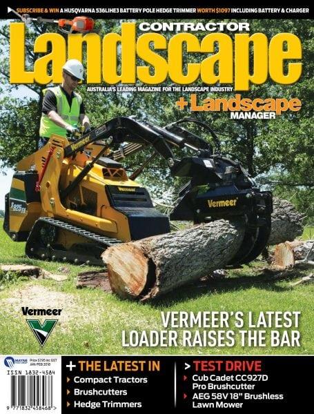 landscape contractor january