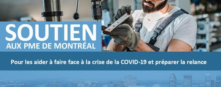 Soutien aux PME de Montréal