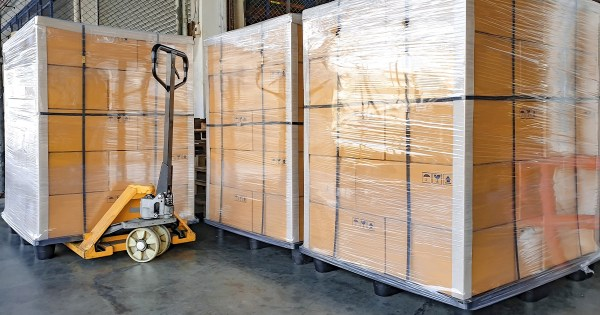 Les emballages Carrousel - pellicule étirable Carrou-cycle