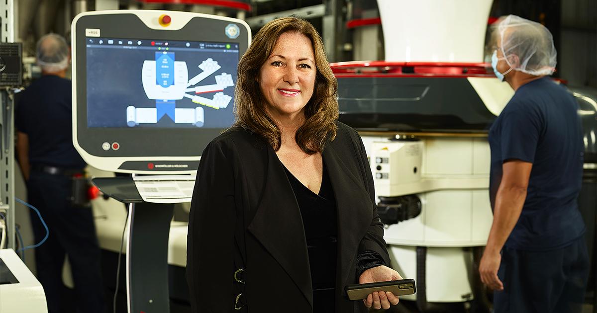 Lidia Divry, directrice du Service du développement économique de la Ville de Laval chez Les Industries Pro-Pals