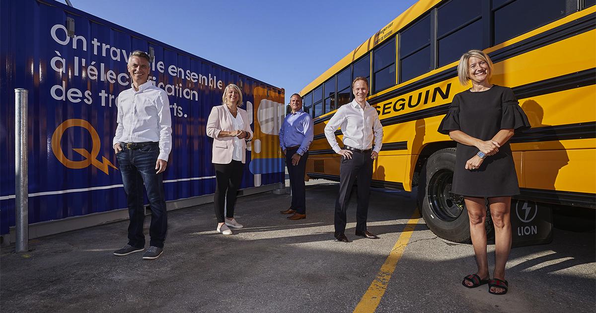 Hydro-Québec lance un projet pilote avec Autobus Groupe Séguin