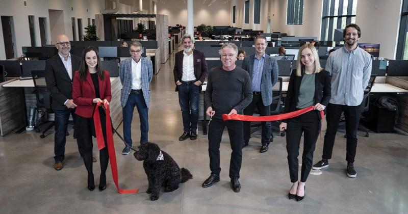 Le Groupe Legault inaugure leur nouveau siège social